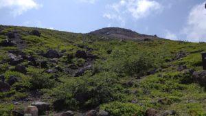 那須岳の景色