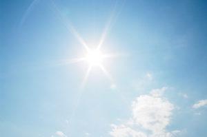 太陽のフリー画像
