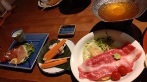 一心館夕食2