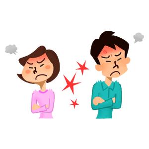 夫婦喧嘩の画像